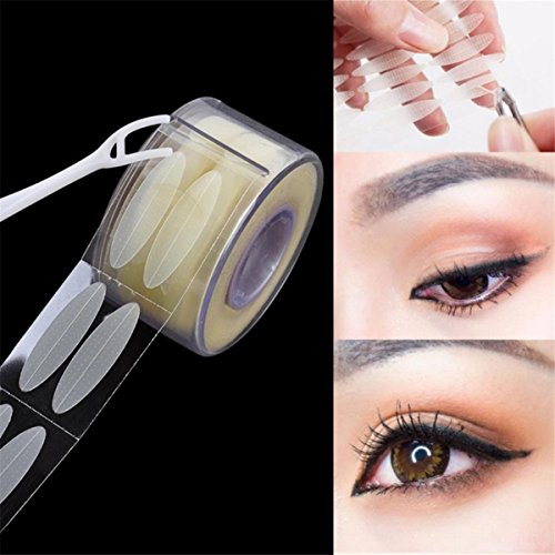 LKXHarleya 600 Pcs/Lot PaupièRe Ombre Autocollant Double PaupièRe Outil Clear Maquillage Invisible Big Eye Autocollant