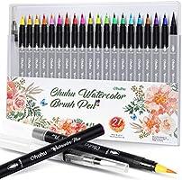 Ohuhu 20 Colors Water Based Drawing Marker Brushe