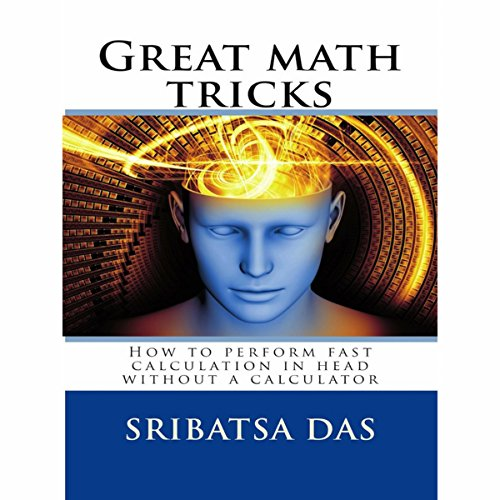 Great Math Tricks audiobook cover art