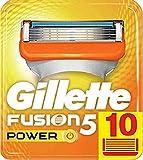 Gillette Fusion 5 Power Lames de Rasoir Homme, Pack de 10 Lames de Recharges [OFFICIEL]