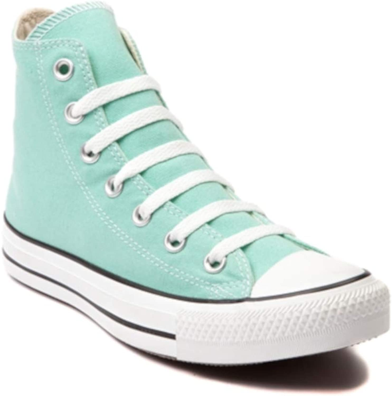Converse - Chuck Taylor All Star Seasonals Hi Canvas shoes in Beach Glass, UK  12 UK, Beach Glass
