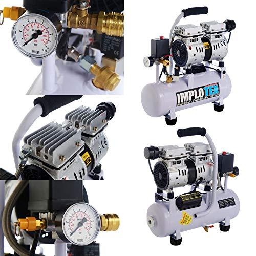 IMPLOTEX Flüsterkompressor 480W - 3