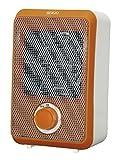 Sogo CAL-SS-18295-O Mini calefactor ventilador con motor DC, 600 W, Naranja y blanco