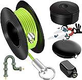 Sacacorchos magnéticos para herramientas y comprobadores de cables magnéticos, guía de alambre magnético, imán de tiro de alambre magnético para imán eléctrico