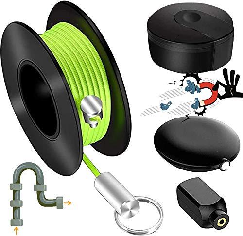Sacacorchos magnéticos para herramientas y comprobadores de cables magnéticos, guía de alambre...