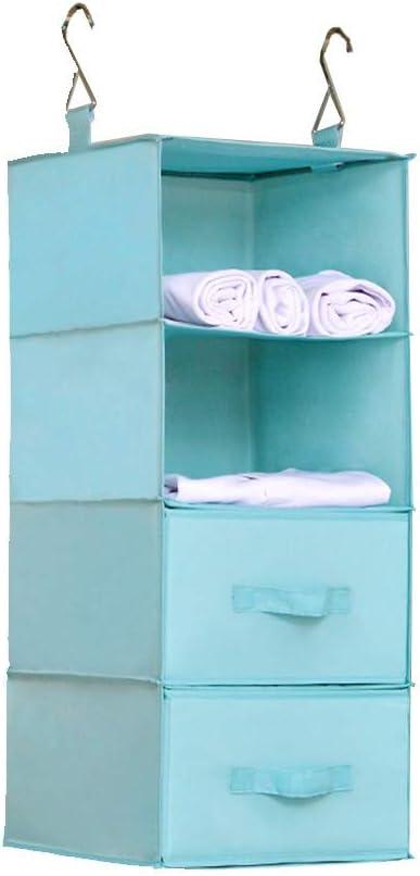 LJXX Save money Hanging Shelves Organizer Sh Wardrobe Storage Long Beach Mall Shelf