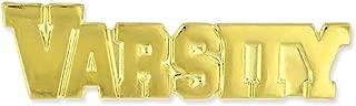 Varsity Gold Chenille Sports Lapel Pin