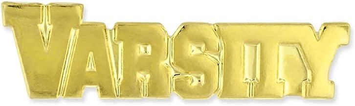 JDS Industries Varsity Gold Chenille Sports Lapel Pin