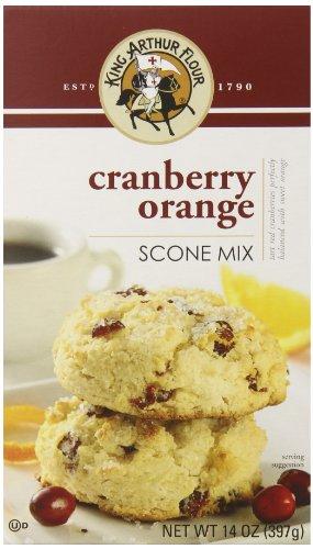 King Arthur Flour Scone Mix, Cranberry Orange, 14 Ounce (Pack of 6)