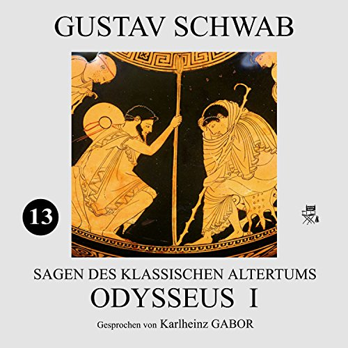 Odysseus I audiobook cover art