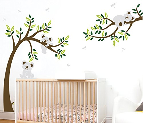 MAFENT Koala Family Nursery Bedroom