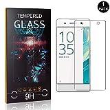 Bear Village® Displayschutzfolie für Sony Xperia XA, Kratzfest Schutzfolie aus Gehärtetem Glas für Sony Xperia XA, Einfache Installation, 99% Transparenz, 1 Stück -