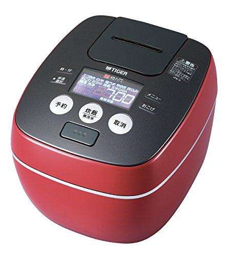 タイガー 炊飯器 圧力IH 「炊きたて」 一升 ラスターレッド JPB-G180-RL