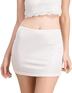 RkBaoye Women Fitness Short Mini Silk Sexy Summer Trendy Solid Colored Skirt