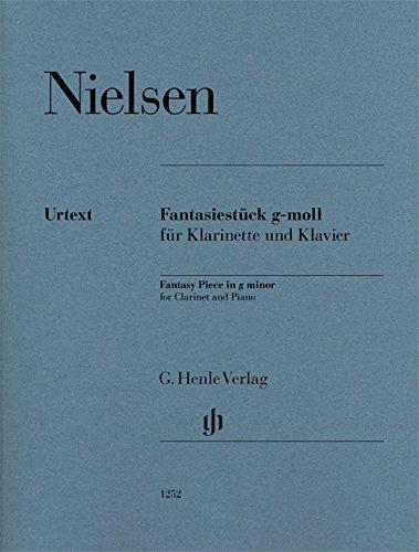 Fantasiestück g-moll für Klarinette und Klavier