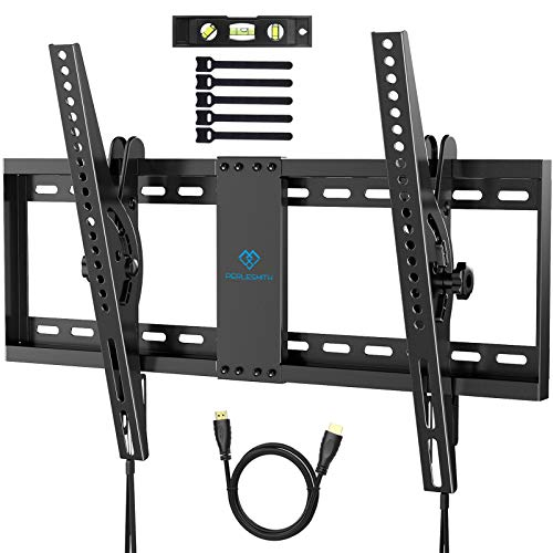 Supporto TV Inclinabile - Staffa da Parete per TV da 37-70 Pollici, Max VESA 600x400, Staffa Ultra Resistente 60 kg