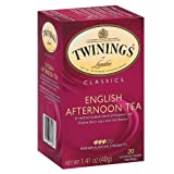 Twinings Classic English Afternoon Tea, 20 Count