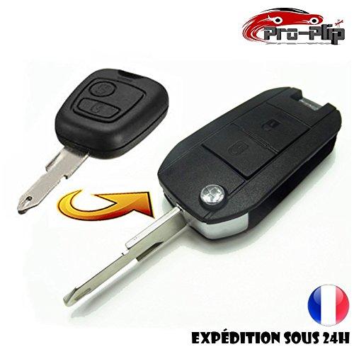 KIT DE Transformation CLE PLIP Peugeot 106 206 306 2 Boutons Conversion @Pro-Plip