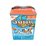 HEXBUG JUNKBOTS - Trash Bin Assortment Kit - Surprise Toys in Every Box LOL with Boys and Girls - Alien Powered Toys for Kids - 15+ Pieces of Action Construction Figures - for Ages 5 and Up