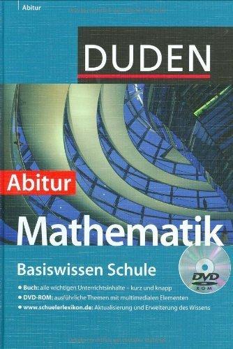Duden. Basiswissen Schule. Mathematik Abitur: 11. Klasse bis Abitur von Bossek, Hubert (2007) Gebundene Ausgabe