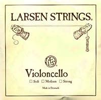 CUERDA VIOLONCELLO - Larsen (Acero) 2ェ Medium Cello 4/4 (Re) D (Una Unidad)