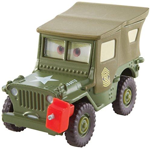 Disney Pixar Cars formgjuten Pit Crew medlem Sarge