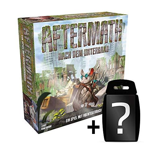 Aftermath - Grundspiel - Brettspiel | DEUTSCH | Set inkl. Kartenspiel
