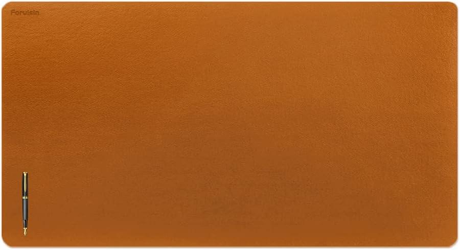 Foruisin Leather Mat Desk Pad 送料込 ☆国内最安値に挑戦☆ Protector Blotter Waterproof N