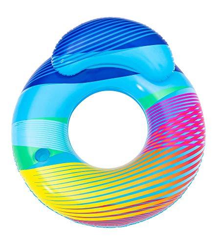 Bestway Schwimmring Swim Bright mit LED-Licht, 118 x 117 cm