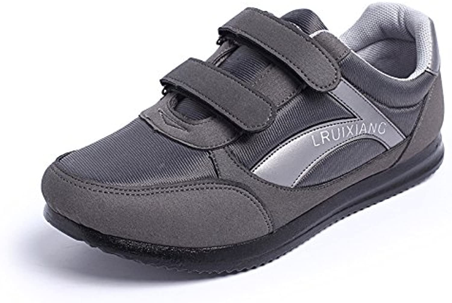 WHW Women shoes Campaign 0858 shoe wear velcro breathable health shoes ,grey,38