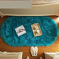 大きなリビングルームのカーペット長い髪の部屋の敷物滑り止めのカーペットリビングルームや寝室の装飾に適していますカーペット-A_120X160cm
