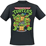 Photo de Teenage Mutant Ninja Turtles Les Tortues Ninja Group T-Shirt Noir XL