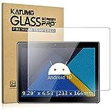 [2 Pezzi] Tablet 9.6-10.1 Pollici Universal Vetro Temperato 10 Pollici Premium Pellicola Vetro Temperato