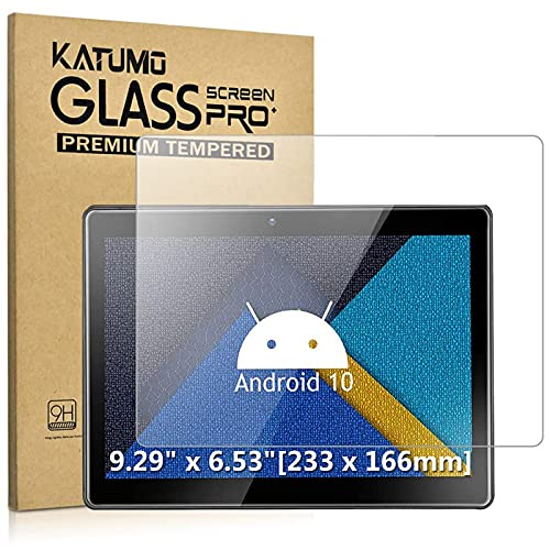 [2 Pack] KATUMO 9.6-10.1 Zoll Tablet Universal Panzerglas Tab 10 Zoll Schutzfolie 9H Härte Glas Folie