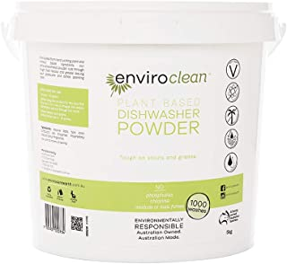 Enviroclean Plant Based Dishwasher Powder 5 kg Bucket, 5 kilograms
