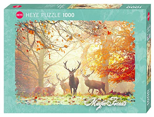 HEYE 29805 Stags Standard 1000 Teile, Magic Forests, Brown