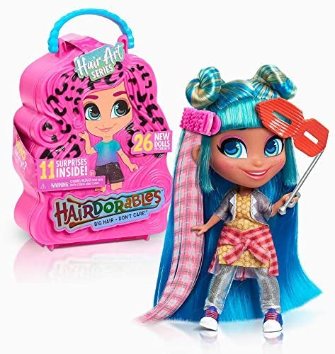 Hairdorables Dolls Assortment - Series 5, Dolls and Accessories, Fashion Dolls, Gifts for Kids 3 and Up