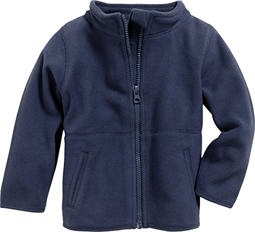 Fleece-Jacke uni
