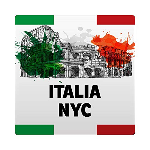 Makoroni - Italia NYC Italy Italian Des#1 Ceramic Tile Trivet 6x6 inc