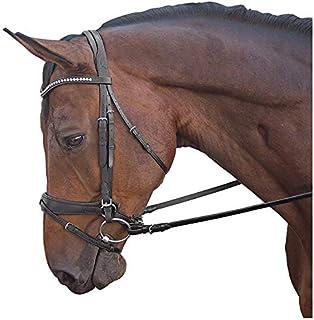 M Toulouse Comfort Cavesson Dressage Bridle