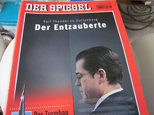 Der Spiegel Nr. 51/14.12.09 Karl-Theodor zu Guttenberg Der Entzauberte