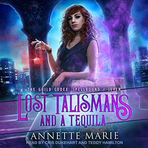 Lost Talismans and a Tequila cover art