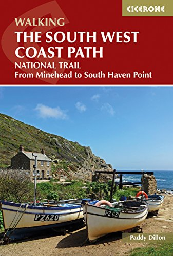 The South West Coast Path: National Trail From Minehead to South Haven Point (Cicerone Guides)
