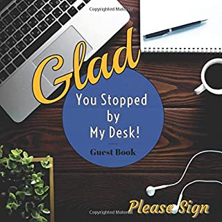 cubicle guest book