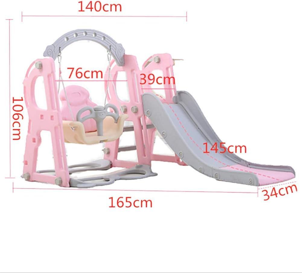 Kletterleiter /& Spielzubeh/ör,Blau XIAOFEI Garten Rutsche Kinder Kombination Kinder Indoor Home Kindergarten Baby Spielplatz Kleines Kind Multifunktionsspielzeug