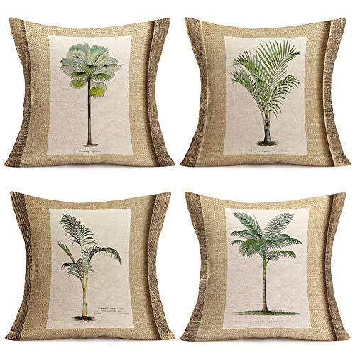 Fukeen Set of 4 Tropical Paradise