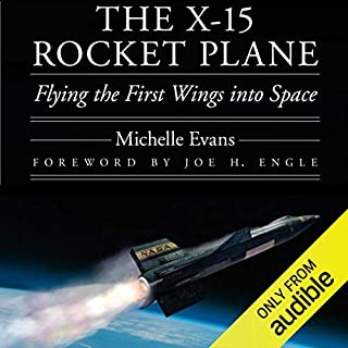 The X-15 Rocket Plane audiobook cover art