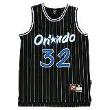 KKSY Camisetas de la para Hombre Shaquille O'Neal # 32 Orlando Magic 1994-95 Camisetas de Baloncesto de la NBA,A,XXL