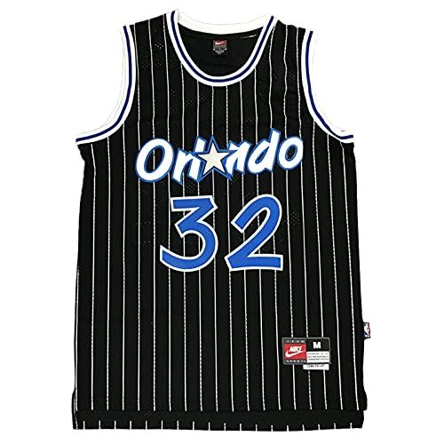 KKSY Camisetas de la NBA para Hombre Shaquille O'Neal # 32 Orlando Magic 1994-95 Camisetas de Baloncesto de la NBA,C,XL