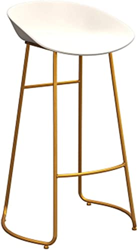 QRFDIAN Tabouret de Bar Boutique de thé Moderne et Minimaliste Chaise de Bar Tabouret Haut Chaise de Bar Nordic Chaise Haute Tabouret de Bar (Taille   75cm)